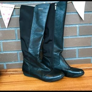DKNY leather boots. Size 9.5